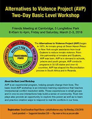 March 2018 Basic Workshop Flyer